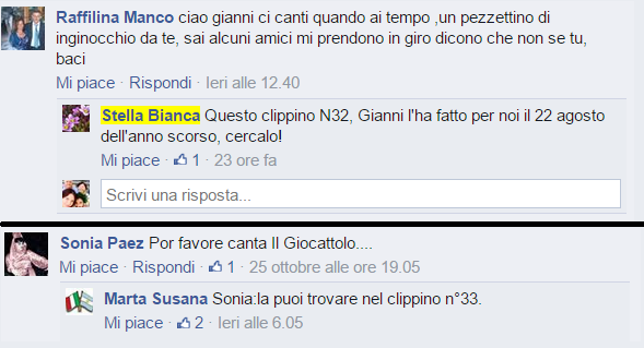 gianni morandi clippini