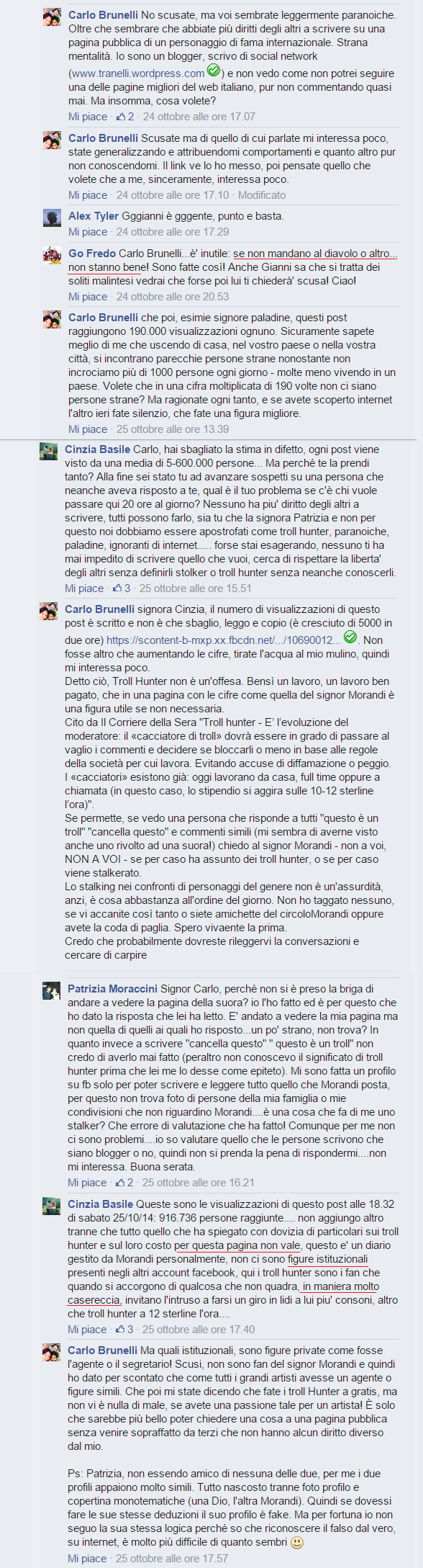 Gianni Morandi post mio2