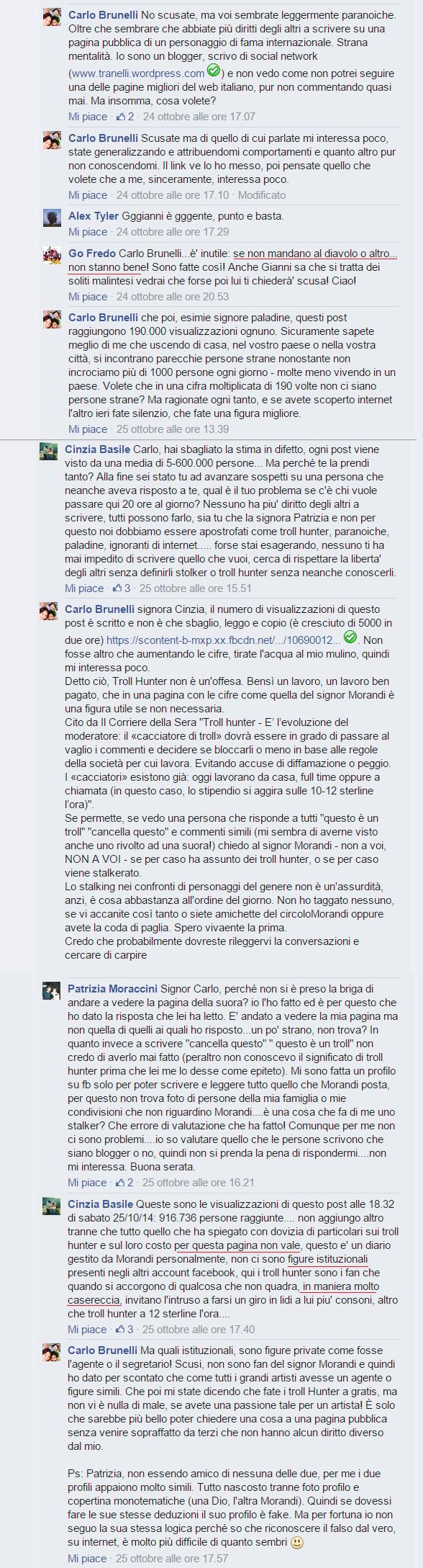 Gianni Morandi post mio2
