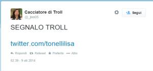 segnalo troll tonelli lisa
